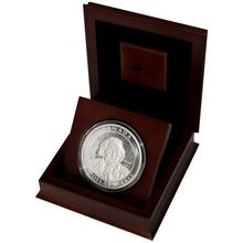 Stříbrná mince 10 Oz Albert Einstein - Speciální teorie relativity 2015 Proof (.9999)