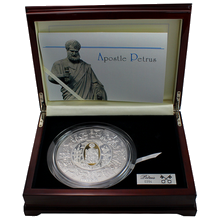Stříbrná mince Apoštol Petr 1 Kg Puzzle 2009 Proof
