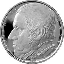 Strieborná minca 200 Kč František Palacký 200. výročie narodenia 1998 Proof
