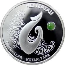Stříbrná mince Hei Matau Maori Art 1 Oz 2012 Proof