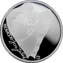 Strieborná minca 200 Kč Jaroslav Ježek 100. výročie narodenia 2006 Proof