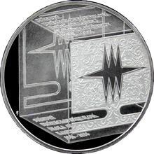Strieborná minca 200 Kč Založenie SUŠ v Kamenickom Šenove 150. výročieí 2006 Proof