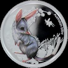 Stříbrná mince Bandikut 2011 Proof