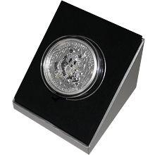 Stříbrná mince 3 Oz Giant Panda 3D Pavé 2015 Krystaly Standard