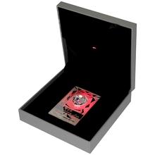Stříbrná mince Luxury Line Srdce Růžové osvícení 2014 Krystal Proof