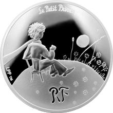 Stříbrná mince Malý princ: Důležité je neviditelné 2015 Proof