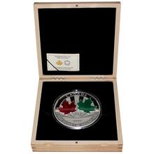 Stříbrná mince 1 Kg Maple Leaf Forever 2014 Proof (.9999)