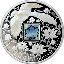 Stříbrná mince Straka - Maple of Happiness 2011 Proof (.9999)