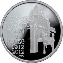 Stříbrná mince 200 Kč Otevření Obecního domu v Praze 100. výročí 2012 Proof