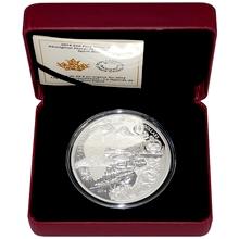 Stříbrná mince 5 Oz Pověst o Kermodském medvědu 2014 Proof (.9999)