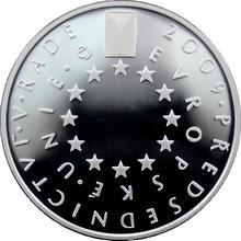 Stříbrná mince 200 Kč České předsednictví Evropské unie 2009 Proof