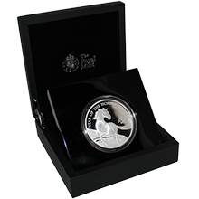 Stříbrná mince 5 Oz Rok Koně The Royal Mint 2014 Proof