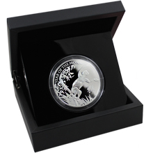 Stříbrná mince 5 Oz Rok Opice The Royal Mint 2016 Proof