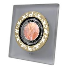 Stříbrná mince 5 Oz Year of the Goat Rok Kozy 2015 Perleť Proof