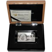 Stříbrná mince Kookaburra 25. výročí Exkluzivní edice 2015 Proof