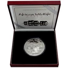 Stříbrná mince Slon africký African Wildlife 1 Kg 2012 Privy Mark Proof