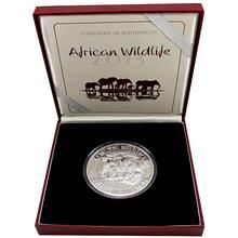 Stříbrná mince Slon africký African Wildlife 1 Kg 2013 Privy Mark Proof
