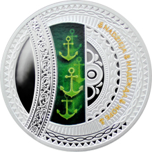 Stříbrná mince Naděje - The World of your Soul 2015 Proof