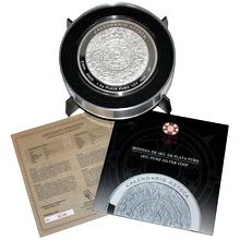 1kg Aztécký kalendář Stříbrná mince 2010 Proof