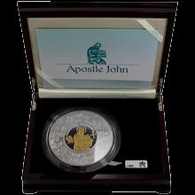 Stříbrná mince Apoštol Jan 1Kg Puzzle 2011 Proof