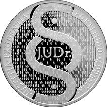 Stříbrná titulární medaile JUDr. Proof