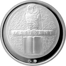 Stříbrná titulární medaile Maturant Proof