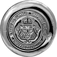 155g Scottsdale Button Bar USA Investiční stříbrný slitek