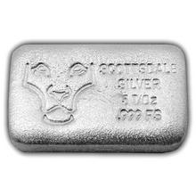 "155g Scottsdale ""Throwback"" USA Investiční stříbrný slitek"