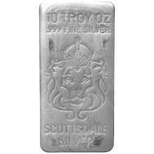 "311g Scottsdale ""Throwback"" USA Investiční stříbrný slitek"