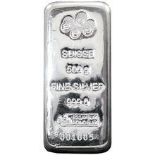 500g PAMP Stříbrný investiční slitek