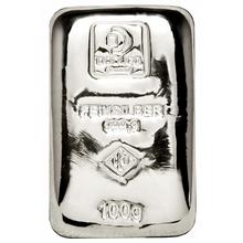 100g Doduco/LEV Investiční stříbrný slitek (.9999)