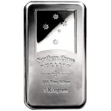 1000g LEV - Southern Cross Investiční stříbrný slitek