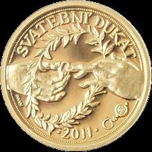 Svatební dukát Zlatá medaile 2011 Proof