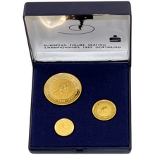 The Australian Nugget Sada zlatých mincí 1995