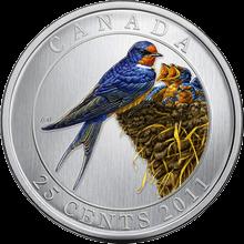 Ocelová mince Vlaštovka 2011 Štandard
