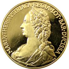 Zlatá medaile Marie Terezie Proof