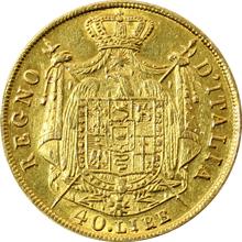 Zlatá mince 40 Lira Napoleon Bonaparte 1811