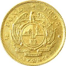 Zlatá mince 1/2 Pond Paul Kruger 1895