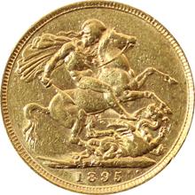Zlatý Sovereign Královna Viktorie 1893 - 1901