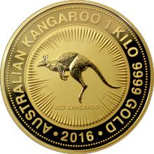 Zlatá investiční mince Kangaroo Klokan 1 Kg