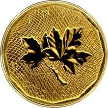 Zlatá investiční mince Maple Leaf 1 Oz 2008 (.99999)