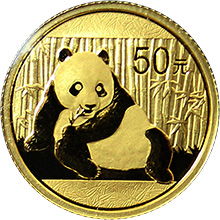 Zlatá investičná minca Panda 1/10 Oz