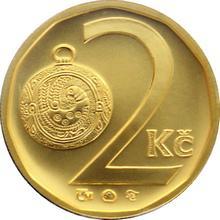 Zlatá medaile 2 Kč 1995 Standard