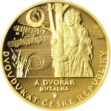 Dvoudukát ČR 2016 Antonín Dvořák - Rusalka Proof