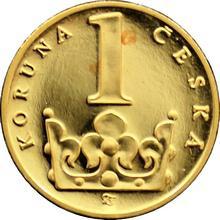 Zlatá medaile Koruna Česká 1.výročí ČM 1994 Standard