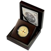 Zlatá minca The World of your Soul 2015 Kryštál Proof