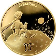 Zlatá minca Malý princ: Dôležité je nevidiťelné 1/4 Oz 2015 Proof