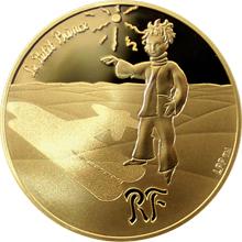 Zlatá minca Malý princ:Hviezdy sú sprievodcovia 1/4 Oz 2015 Proof