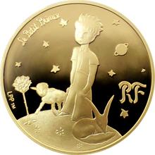 Zlatá minca Malý princ: Namaluj mi barančeka 1/4 Oz 2015 Proof