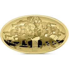 Zlatá mince Mistrovství světa v ragby 2015 1 Oz Proof